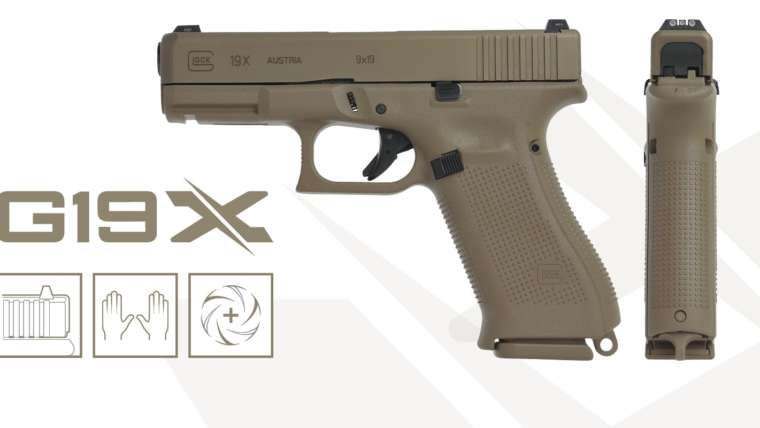 glock g19x, law enforcement handgun